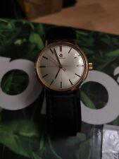 Omega Mechanical watch with Black Strap