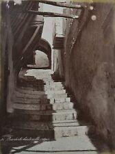 c1880 2x Large Format Albumen Photograph Algiers Alger Haute Ville & El Djedid