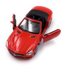 Mercedes Benz sl500 2012 maqueta de coche auto producto con licencia 1:34-1:39 blanco rojo