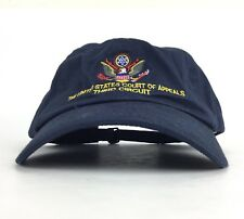 The United States Court of Appeals Third Circuit Navy Blue Baseball Cap Hat Adj