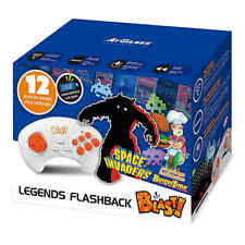 Legends Flashback Blast! 12 Games Plug & Play ~Space Invaders BurgerTime ~NEW!