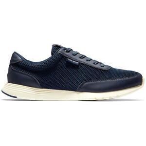 Cole Haan Mens Grand Crosscourt Navy Fashion Sneakers 11.5 Medium (D) BHFO 6132