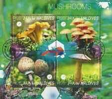 Timbres Champignons Maldives 4489/92 o année 2014 lot 19993 - cote : 15 €