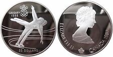CANADA KM 155   20 Dollars Olympia 1988 Eistanz 1987 in PP Proof  474053