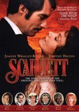 Scarlett: Sequel To Margaret Mitchell's Gone With (2017, DVD NEUF)