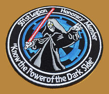 STAR WARS Emperor POWER OF Dark Side 501st embroidered IRON ON PATCH