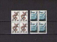 Kasachstan Kazakhstan 1992 Mi-Nr. 15-16 je als Viererblock Postfrisch ** MNH
