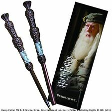 Harry Potter Dumbledore Elder Wand Pen and Bookmark Gift Set Hogwarts Noble