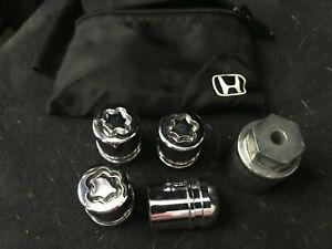 Honda OEM Wheel Lock Set Locking Lug Nuts (Acura Too) 19mm