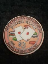 Palms Casino Poker Room 3.00 Chip