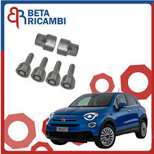 Kit Bulloni Antifurto Per Fiat 500X Dal 2012> Ruote In Acciaio O Lega Farad