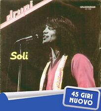 "DRUPI "" SOLI "" 45 GIRI NUOVO (MINT) 1982 FONIT CETRA RARO"