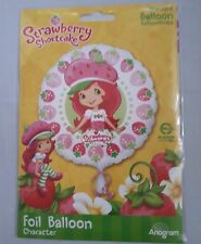Strawberry Shortcake Character Anagram Foil Balloon