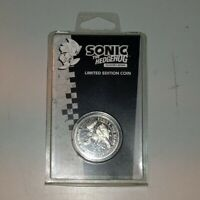 Sonic The Hedgehog Limited Edition Speed Silver Collector's Coin Sega