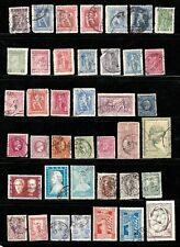 Greece stamps, small collection of 40 classics, used, SCV $68.25