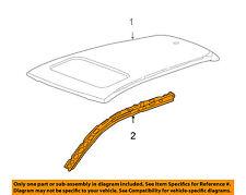 Acura HONDA OEM 07-12 RDX-Exterior Roof Side Rail Right 63120STKA00ZZ