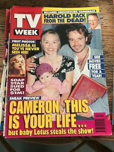 TV WEEK MAGAZINE * October 26 1996 * Cameron Daddo, Melissa George, AC/DC Tour.