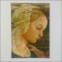 Florence Uffizi Gallery Lippi Our Lady worshipping the Child Postcard (P348)