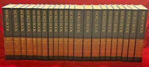 1994 World Book Encyclopedia Set Complete 22 Volumes A-Z & Index