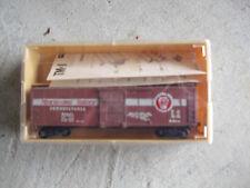 Vintage HO Scale TMI Train Miniatures PRR Merchandise Box Car in Box 2060