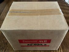Panasonic MII AU-M30L Videotapes 30 Minute Case of 10 - NEW Broadcast Video Tape