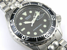 Mens Seiko 5H26-7A1A Quartz Professional Divers Watch - 200m