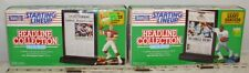 STARTING LINEUP NFL FOOTBALL MARK RYPIEN & BARRY SANDERS FIGURES X2 MINT BOXED