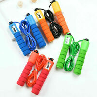Jump Ropes with Counter Sports Fitness Adjustable Fast Speed Jump
