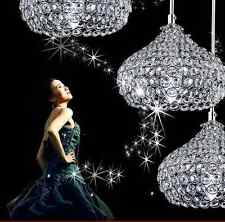 Modern K9 crystal lights bedroom LED chandelier kitchen villa Restaurant Pendant