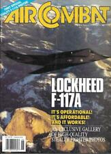 Air Combat June 1990 Lockheed F-117A Stealth Fighter Photos P-3 Orion Frogfoot