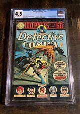 Detective Comic #441 CGC 4.5! 1st Appearance Of Detective Bullock⭐️⭐️⭐️