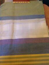 Charter Club Casuals King Pillow Sham Stripe Blue Green New