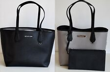 MICHAEL KORS  Damen Tasche CANDY LG REVERSIBLE TOTE 2 in 1  black/pearl grey