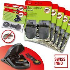 5 x 2 Stück Swissinno SuperCat Mausefalle + 2 x 6 Stück Ersatzköder