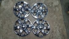 New Set 09 10 11 12 13 14 15 16 17 Traverse Hubcaps Wheel Covers Chrome 3284