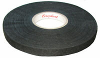 Coroplast Gewebeband mit Vlies 8550, 9mm x 25m Adhesive Fleece Tape Schwarz