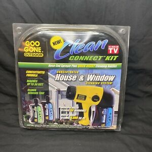 Goo Gone Outdoor Clean Connect Kit House & Window As seen on TV New Old Stock