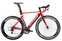 Upgraded Aluminium Road Bike Shimano 16 Speed 54cm Mens Bikes 700C Bicycle XL