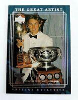 Wayne Gretzky 1999-00 Upper Deck Exclusives #53 The Great Artist Edmonton Oilers