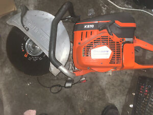 Husqvarna K970 Concrete Saw Gas Power Cutter