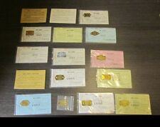 1939 to 1960 Armstrong County Pennsylvania Fox Terrier Dog License Metal Tag Lot