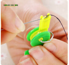 5Pcs Automatic Needle Threader Thread Device Easy Stitch Thread Guide Tool