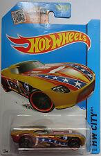 2014 Hot Wheels HW CITY Secret Treasure Hunts Fast Felion 69/250 (Gold)