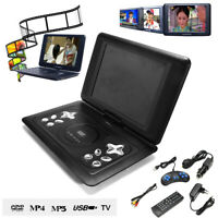 17 Inch HD Portable DVD Player 270 Degree Swivel Screen USB SD CD-player
