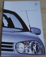 Prospekt VW Golf Cabriolet 1998