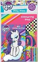 MY LITTLE PONY PLAY PACK COLOURING BOOK COLOUR PENCILS & PAD ACTIVITY SET MYPPK