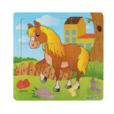Latest Wooden Horse Jigsaw Toys For Kids Education And Learning Puzzles Toys