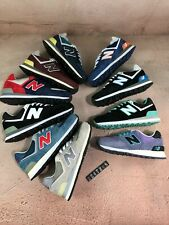 HOT!! New Balance NB574 Classic Suede & Textile Retro Trainers in All Sizes