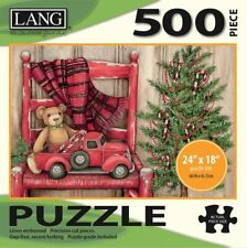 BEAR IN CHAIR - LANG ART - 500 PIECE JIGSAW PUZZLE - BRAND NEW - 5039109