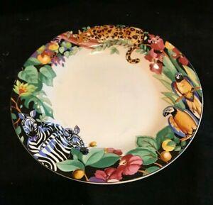Vitromaster Rain Forest by Sue Zipkin  Salad Plate